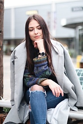 Jeany Roge -  - Street Style on a Winter's Day