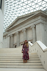 Alexe Bec - Free People Dress, Over The Knee Boots - London Travel Diary