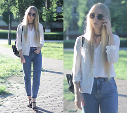 Lena -  - How to wear a white shirt?