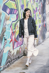 URBAN CREATIVI-TEA - Anine Bing Jacket, Ulla Johnson Skirt, Chanel Bag, Bryr Clogs Shoes - Wool&Silk / urbancreativi-tea