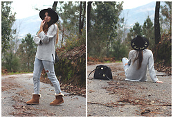 Bárbara Marques - Primark Knit, Bershka Jeans, Ugg Boots, Michael Kors Bag, Zara Hat - AS SIMPLE AS THAT