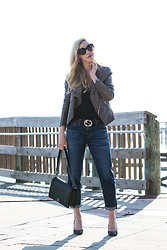 Meagan Brandon -  - The Best Year-Round Leather Jacket