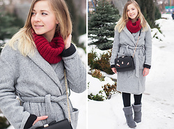 Natalie Savchenko - Zaful Bag, Gamiss Boots - White Winter Hymnal