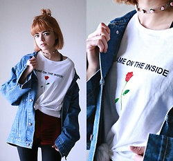 KENDALL SANCHÈZ - Same On The Inside T Shirt, It's Kendall Kay Style Blog - .SAME ON THE INSIDE.