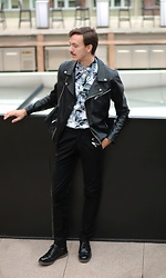 Bartek Piekara - Topman Shirt, Pull & Bear Jacket, Zara Pants, Pull & Bear Shoes - Bruno Mars - 24K Magic