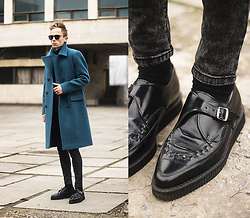 Daniil Shamatrin - Coat, Turtleneck, Underground Shoes - ZHU – Generationwhy