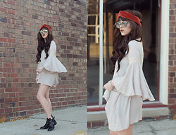 Indiefoxx - Noalle Tunic Dress, Zooshoo Boots - Take me back