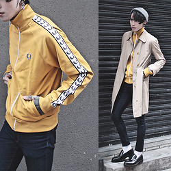 IVAN Chang - Fred Perry Jacket - 040317 TODAY STYLE