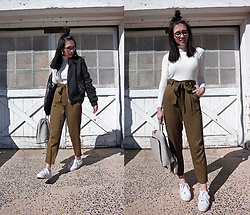 Sheila -  - Bomber Jacket and Cropped Pants