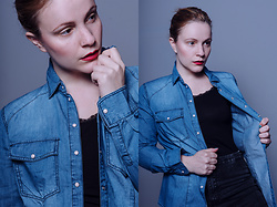 Serena Pirredda - Pimkie Denim Shirt - Denim Vibes