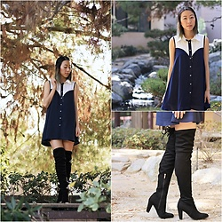 Amy Lai -  - Preppy Thigh Highs