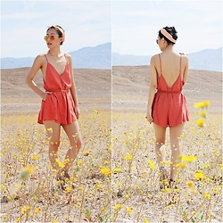 Amy Lai - Tobi Romper - The Wildflower