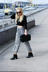 Justyna B. - Zara Shoes, Prada Sunglasses - Culotte