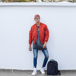 Joseef Tjoe ⚓️ - Jacket, Shoes, Pants, Shirt, Hat - Ootd