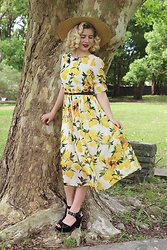 Kayla J - Dressific Lemon Dress - The Lemon Dress
