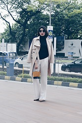 Cassey Cakes - Mango Top, Mango Trousers - The Trench Coat