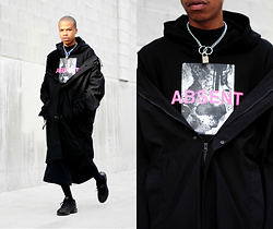Dominic Grizzelle - Profound Co Absent Hoodie, Nike Air Max - ABSENT(MINDED)