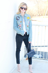 Kim Tuttle -  - Denim Patch Jacket