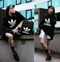 Milex X - Adidas Sweatshirt, Adidas Backpack, Samson Socks, Slydes Shoes - FULL ON ADIDAS