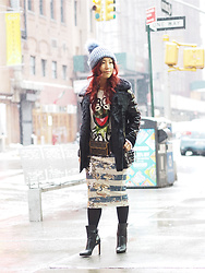 Lily T - Jimmy Choo Boots - NYFW WINTER LOOK