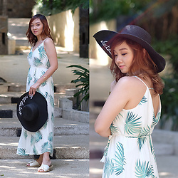 Jean Yu - Forever 21 Long Dress, The Roundee Island - That Summer Vibe