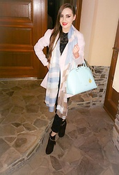 LadyDee -  - Pastel Colored Scarf