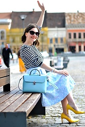Caterina Rățoi - Manier Leather Bag - Spring outfit