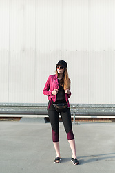 Andrea Funk / andysparkles.de - New Look Jacket - Athleisure – the new chic!