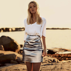 Elin Hansson - Metallic Skirt - I don't understand why you are so cold