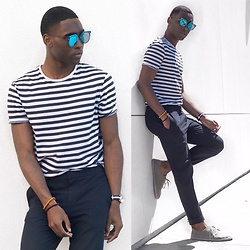 Willie Sparks - Zerouv Sunglasses, Zara Shirt, H&M Trousers - Summer Ready