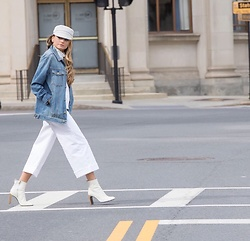 Lauren Recchia - Eugenia Kim Hat, Current/Elliott Denim Jacket, Madewell Denim, Rag & Bone Booties - Cruise Control II