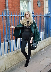 Isobel Thomas - Zaful Jewelled Ankle Boots - Street Style Glam