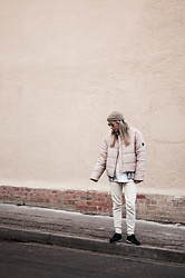 Daniella Robins - Puffa Puffer Coat - Monday's Vibe: All Neutral Everything