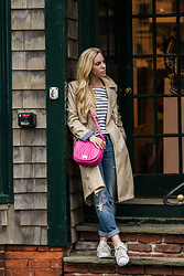 Meagan Brandon -  - Spring Trench & Stripes