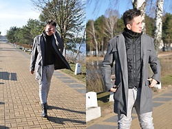 Pawel - Theo. Coat, One Green Elephant Leather Pants, Vintage Sunglasses - Remember, part 2