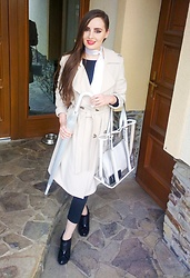 LadyDee -  - Spring Trench Coat