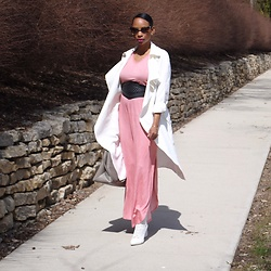 Kaiye R. - Pink Blush Maxi Dress - Pink Blush