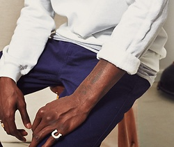The Idle Man - The Idle Man Straight Leg Chinos, The Idle Man Perfect Sweatshirt - Details