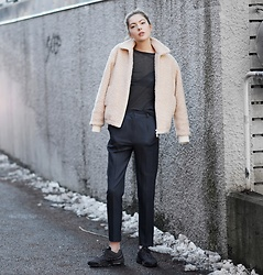 Ebba Zingmark - Brixtol Jacket, Nike Sneakers, Isabel Marant Top, Ebba Zingmark Blog - A SIMPLE LOOK