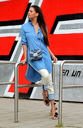 Tamara Chloe - Michael Kors Bag, Zara Heels, Diesel Jeans - Denim On Denim
