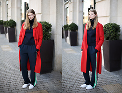 Margarita Lemeshko - Selected Coat - Red Baron