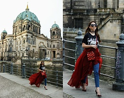 Ramona Crisstea - Zaful Jeans, Zaful Choker, Zaful Skirt - Happy Easter from Berlin