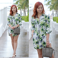Jean Yu - Zaful Shirt, Celine Bag - Back In The Tropics