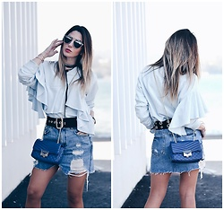 Ma Petite By Ana - Zara Sweatshirt - Denim