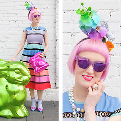 Lovely Sara -  - Jeff Koons Inspired Easter