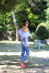 Lily Chelmey - Chicwish Top, Asos Pant, Shellys London Shoes - FrouFrou