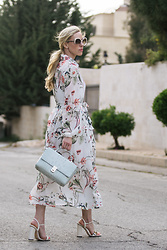 Meagan Brandon -  - Floral Midi Dress