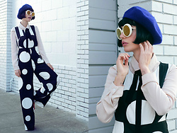 Amy Roiland - Betty And Veronica Jumpsuit, Betty And Veronica Jumpsuit - Look over here //