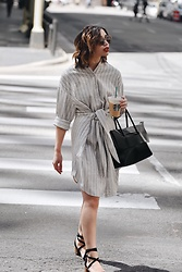 Elizabeth Strecher - Cistar Studio Dress, Mslittlesbag Bag - Saturday in the City