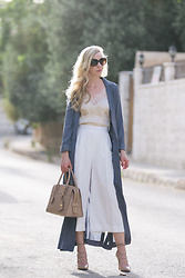 Meagan Brandon -  - How to Wear a Satin Trench Coat